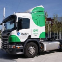 El gas natural permite una logística con menos emisiones.